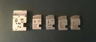 Vintage~alfred Herbert Ltd~straight Cut Dies~machine Tools~coventry Chasers~1942 • 1.50£