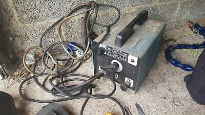 Used Arc Stick Welder With Welding Masks And Various Rods  • 20£