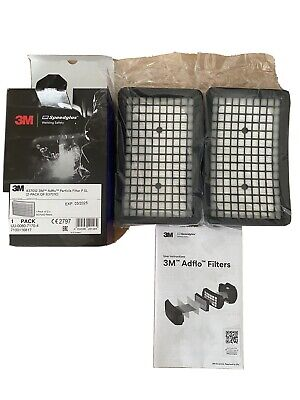 3M Adflo Particle Filter P SL (2 Pack Of 837010) • 1£