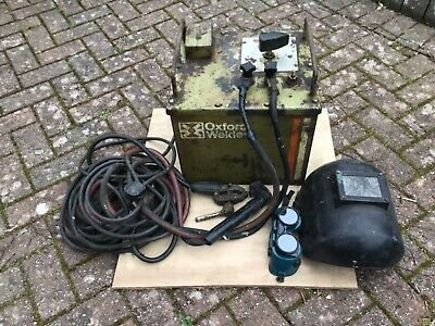 Oxford RT 140 Oil Cooled Electric Arc Welder. Old, But In Good Working Order. • 100£