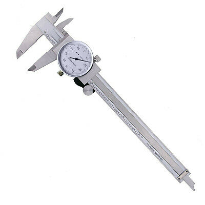 Laboratory 150mm Measuring Stainless Steel Micrometer Dial Vernier Caliper • 24.51£