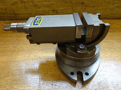 "2"" Precision Swivel Base With Tilt  Milling Vice Lathe Myford • 50£"