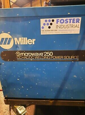 Miller Syncrowave 250, With Water Cooled Pack   • 600£