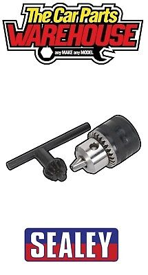 Sealey Drill Chuck 10mm 3/8  24UNF ( 3/8 Inch 24 Unf 10 Mm) With Key • 10.19£