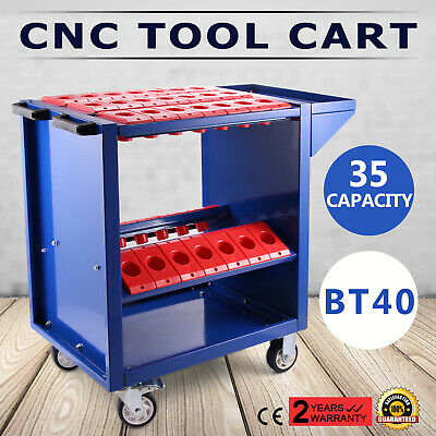 BT40 CNC Tool Trolley Cart Holders Toolscoot Heavy Duty Tooling Storage • 57.81£