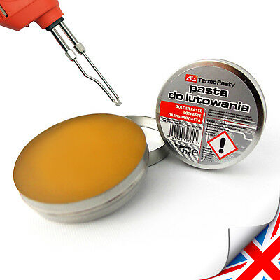 Top Flux Soldering Paste In The 20g Tin For Electronics SMD Plumbing DIY Etc. UK • 1.99£