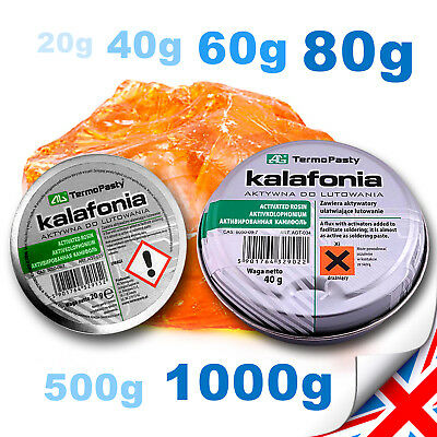 New 20-1000g FLUX, ROSIN For Electronics SMD Solder Flux COLOPHONY - HIGH Purity • 16.99£
