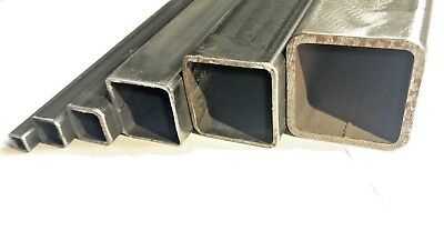 Mild Steel Box Section/Square Hollow Section | LARGE SELECTION | 38 SIZES • 18.98£