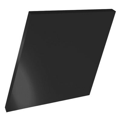 Black Colour Perspex Acrylic Sheet Plastic Material Panel Cut To Size A3A4A5A6 • 16.99£