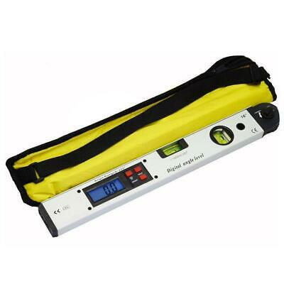 400mm LCD Electronic Digital Angle Finder Meter Protractor Dual Spirit Level BE • 20.02£