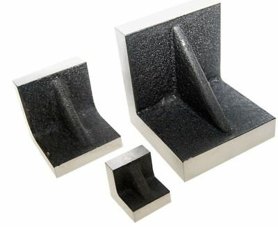 SOLID ANGLE PLATES 3  X 3  X 3  INCH WITH Precision Ground Sides & End. • 25£