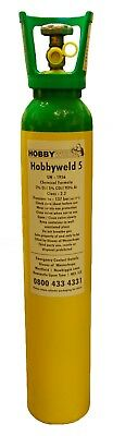 Hobbyweld 5 Mig Welding Gas 9L 137 Bar + £70 Deposit Required - Collection Only • 43£