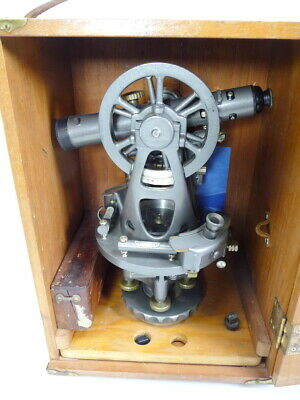Wow! Brunson Old MarineTheodolite Jig Transit Scope Square Collector Item Museum • 320.91£