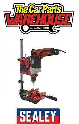 Sealey DS01 Plunge Power Drill Press Stand Bench Pillar Pedestal + Vice Clamp • 45.95£
