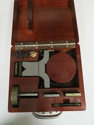 Pratt & Whitney Supermicrometer Lapping Kit - Model 202-300 - Rarely Used - NP6 • 450.27£