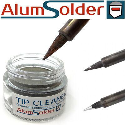 LEAD FREE, SOLDERING IRON TIP TINNER CLEANER, REFRESHER See Description. • 8.10£