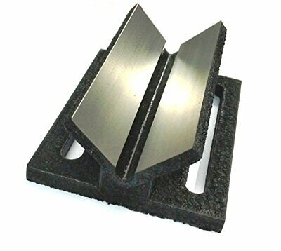 Caste Iron V Block Jig Fixture For Center Drilling On A Round Work-piece 2  • 42.31£