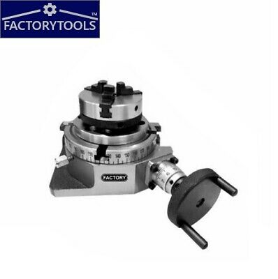 Rotary Table Horizonal And  Vertical  4  / 100mm With 65mm Lathe Chuck  • 89£