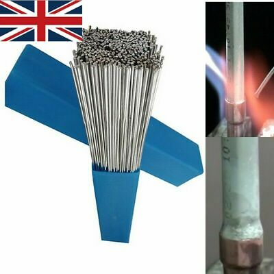 Home Solution Welding Flux-Cored Rods Aluminum Wire Brazing 2mm*500mm UK • 11.12£