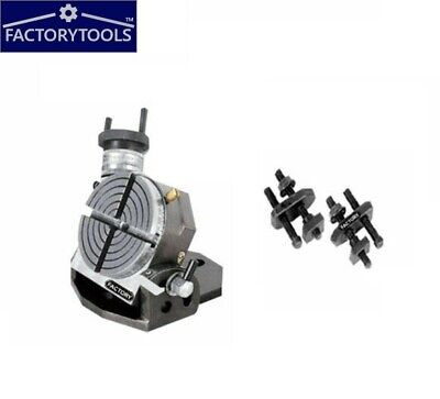 Rotary Table Tilting  3 Inch Or 75 Mm For Milling Machine With Clamping Kit • 67£