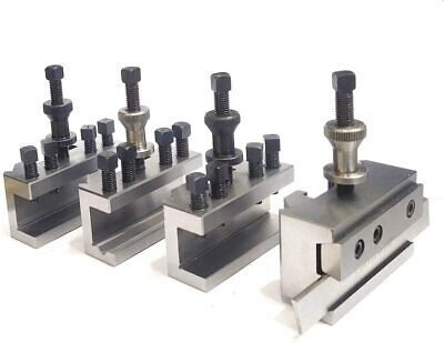 Dickson S2 / T2 Quick Change Tool Post For  Harrison Lathes  (4 Holders Sets) • 139.95£