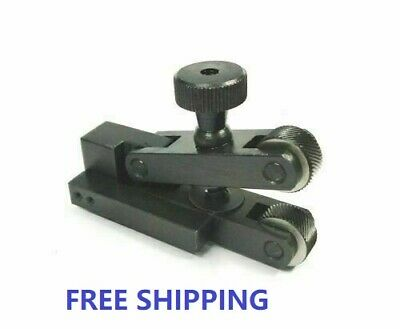 KNURLING TOOL HOLDER ( 2 KNURLS)- V STYLE CAPACITY 5-20 Mm FOR MINI LATHES • 23.50£