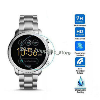 Fossil Q Venture Gen 3 Smart Watch Guard Tempered Glass Film Screen Protector UK • 5.20£