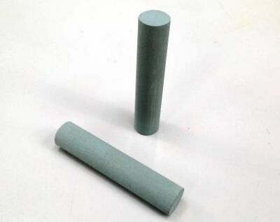 16mm Dia X 80mm Blue Straight Knife Jointing Stone For WACO & WEINIG -600 Grit • 15.46£