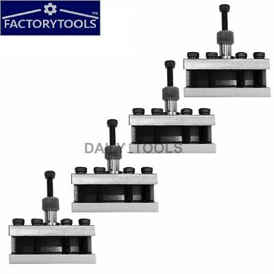Standard Holder T37 For Quick Change Tool Post- Fits Myford  ML7 - 4Pcs • 69.50£