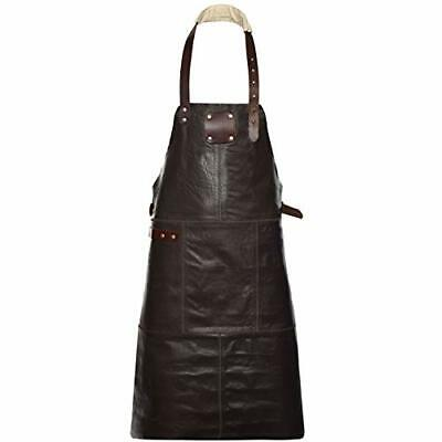 New - Leather Apron Adjustable Length • 69.99£