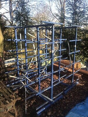 Mobile Pipe Rack Trolley Suitable For Timber Etc • 200£