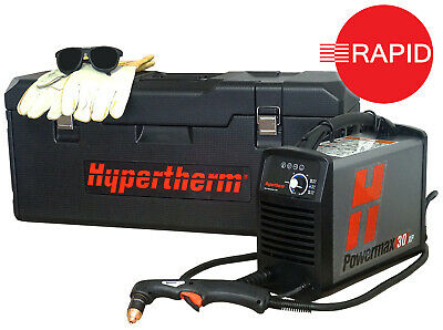 Hypertherm Powermax 30XP Plasma Cutter With Hand Torch & Carry Case,110 & 230v  • 1,699£