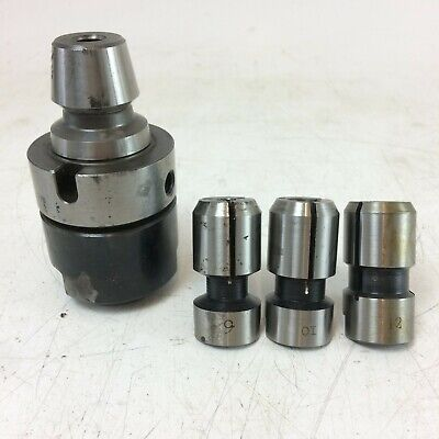 Easy Change Posilock Collet Chuck With 3 Collets • 70£