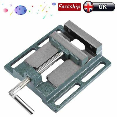 4Inch 100mm Vice Vise Drill Press Machine Work Bench Pillar Clamp Jaw Tools • 14.22£