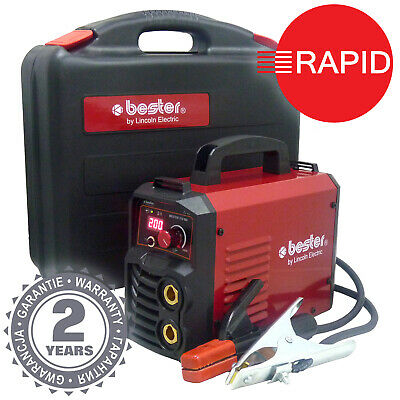Arc Welder Lincoln Bester 210-ND Inverter MMA Package, Two Year Warranty - 230v • 249£