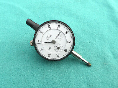 Mitutoyo Metric Dial Gauge Accurate To 0.01mm • 18£
