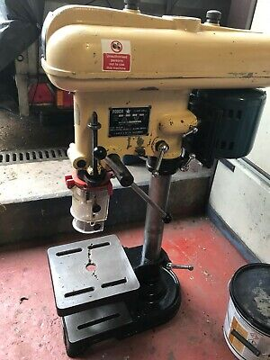 Pillar Drill; FOBCO; Single Phase; 1/2  Chuck; Bench Model; Used; Runs Smoothly • 410£