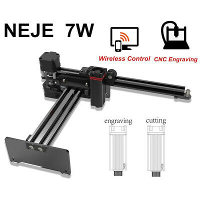 7W Engraver Wireless CNC Mini Carver For Wood Cutting Suit For IOS Android • 165.63£