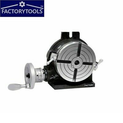 Rotary Table Horizontal / Vertical 150 Mm / 6   For Milling Machine  4 Slot • 199£