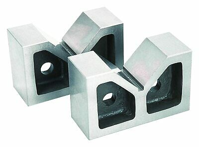 Cast Iron Vee Block 2 Pieces Set  4  X 1-1/2  X 3  Inch V Block Without Clamp • 36£