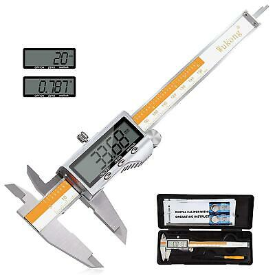 Digital Caliper-Stainless Steel Digital Vernier Calipers With Large LCD Screen 0 • 30.80£