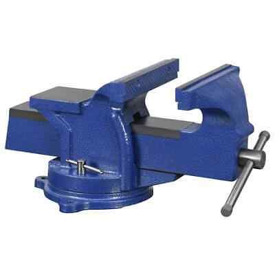 VidaXL Bench Vice With Swivel Base 125 Mm Working Table Vice Bench Hardware • 41.99£