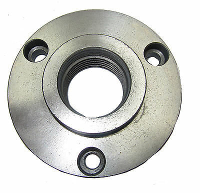 Rdgtools 100mm Lathe Chuck Backplate Threaded To Fit A Boxford With 3 Holes • 22.50£