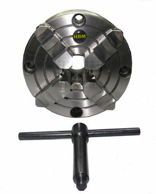 Rdgtools Precision 4 Jaw Independent Lathe Chuck 80mm - 250mm Various Sizes  • 63.50£