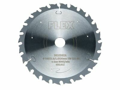 Circular Saw Blade With Alternating Teeth 165 X 20mm X 48T FLX456012 • 52.04£