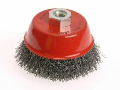 Wire Cup Brush 75mm X M14 X 2 Stainless Steel 0.30mm FAIWBC75S • 11.39£