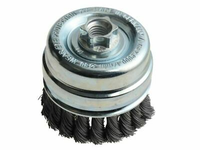 Knot Cup Brush 80mm X M14 X 0.50 Steel Wire* LES484217 • 35.83£