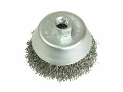 Cup Brush 75mm M14 X 0.35 Steel Wire LES423167 • 21.30£