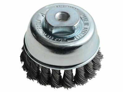 Knot Cup Brush 65mm M10 X 0.50 Steel Wire LES482214 • 14.96£