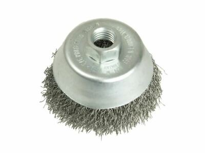 Cup Brush 100mm M14 X 0.35 Steel Wire LES426177 • 28.98£